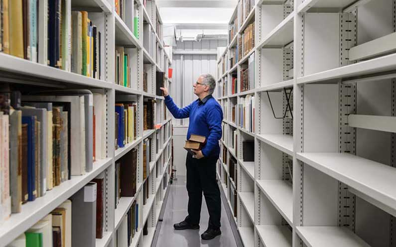 National Library of Wales Infill - bruynzeel Storage Systems